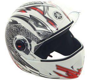 Buy white-red Helmet